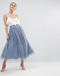 Tulle Prom Skirt with Embellishment - ASOS
