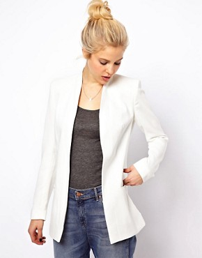 ASOS Premium Blazer With Longline Lapel