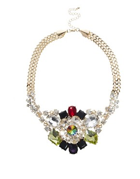 Image 1 ofASOS Premium Night Garden Necklace