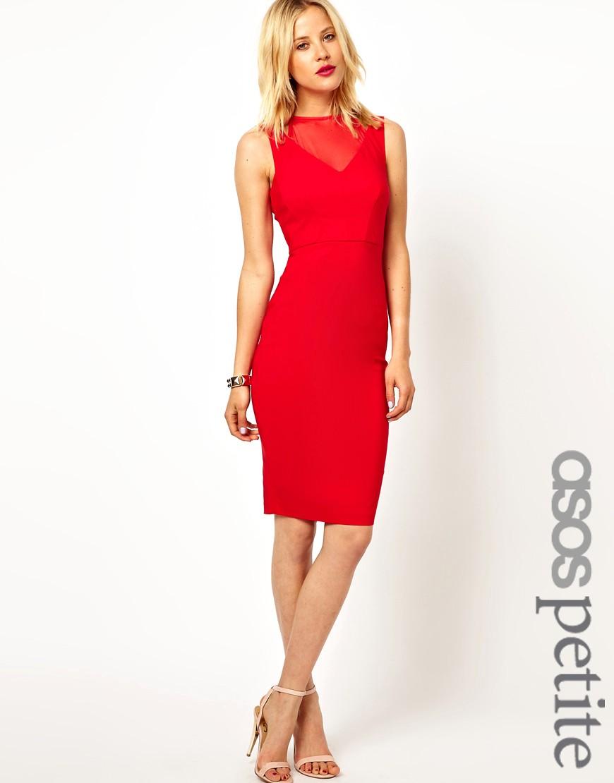 Red Dress Winter Wedding Guest