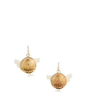 Image 1 of N2 By Les Nereides Gold Chicken Earrings