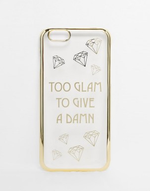 100 Cheap Thoughtful Gift Ideas For Her Under £20 ASOS Too Glam To Give A Damn iPhone 5 Case