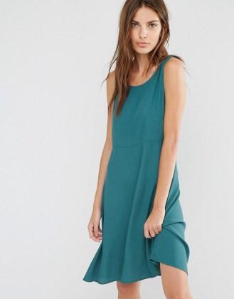 Vila Opera Dress - Green