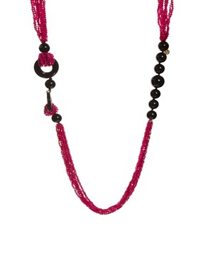 Nali Statement Multi Bead Necklace