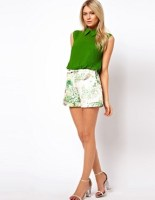 Image 1 of Ted Baker Shorts in Dancing Leaves Print