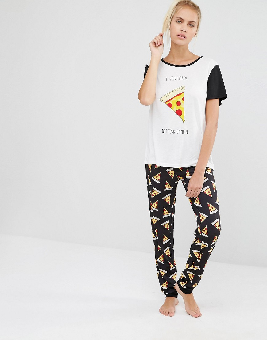 Minkpink Pizza Love PJ Set