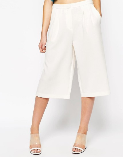 Image 4 of First & I Wide Leg Culotte