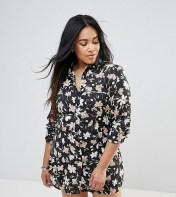 Rage Plus Rage Plus Piped Floral Shirt Dress - Multi 2018