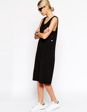 Image 1 ofASOS Jumpsuit With Button Side