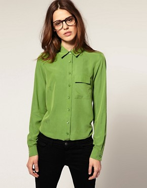 Image 1 of ASOS Bright Coloured Shirt