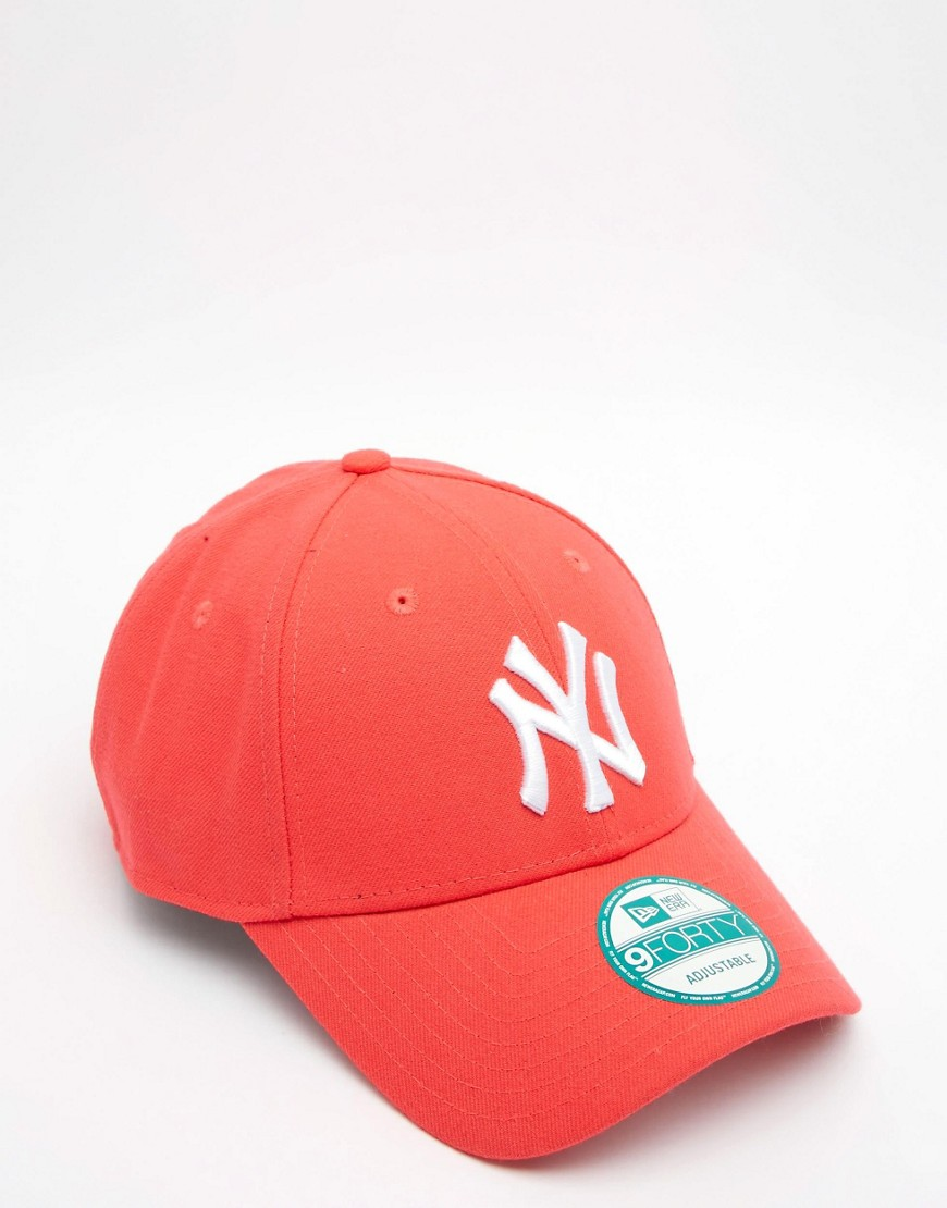 Image 3 - New Era - 9Forty NY - Casquette fluo