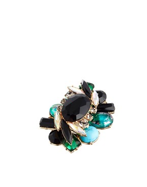 Image 1 of ASOS Modern Jewel Cocktail Ring