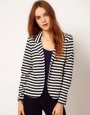 Image 1 of A Wear Stripe Blazer