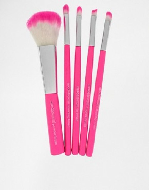 Image 1 of Models Own Neon 5 Piece Brush Set