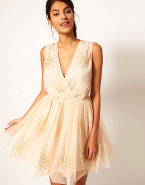 ASOS Party Dress with Embellishment