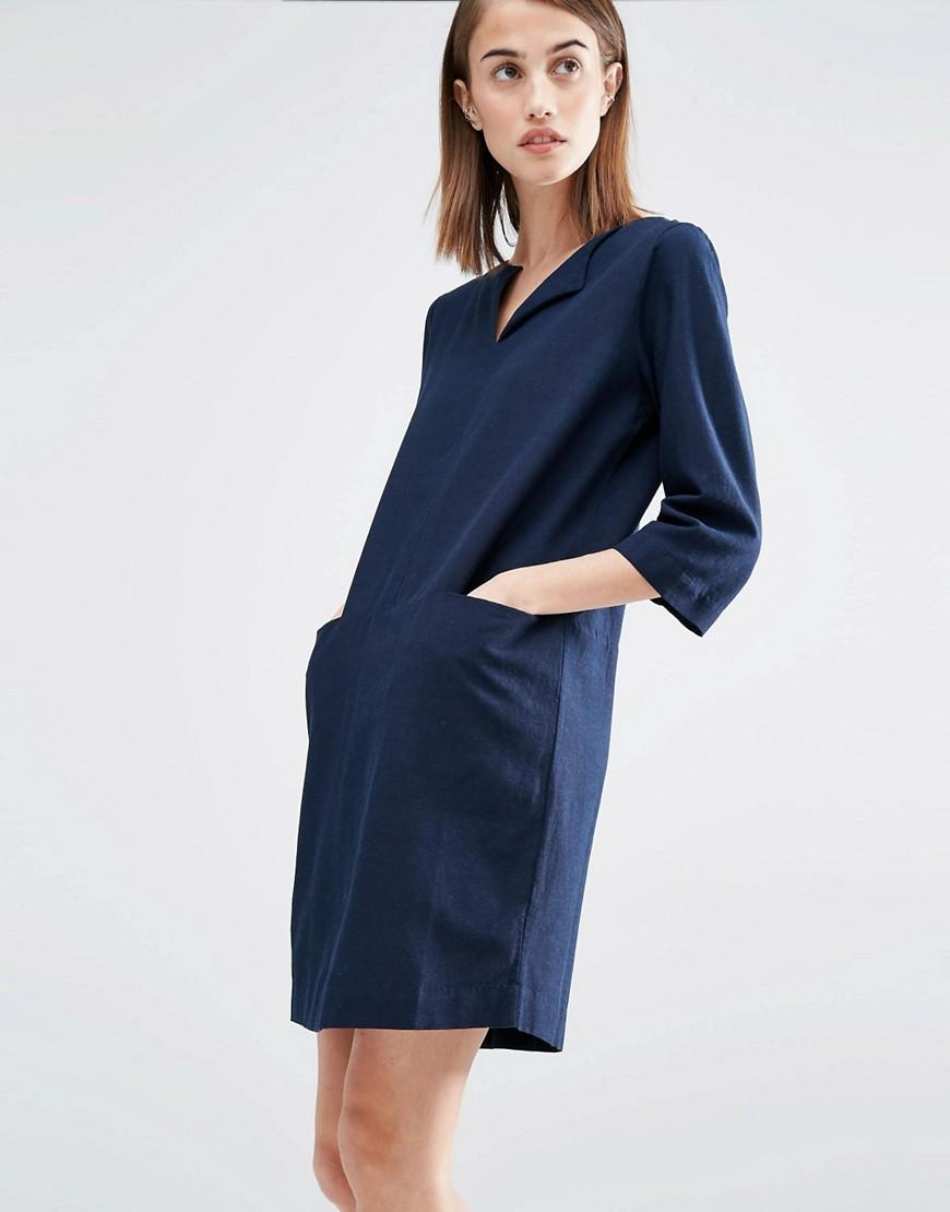 Image 1 - Selected - Robe décontractée avec poches