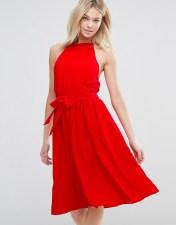 d.RA d.RA Arnie Tie Waist Dress - Red 2018
