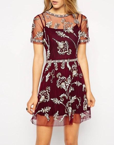 Embellished Blossom Dress £15