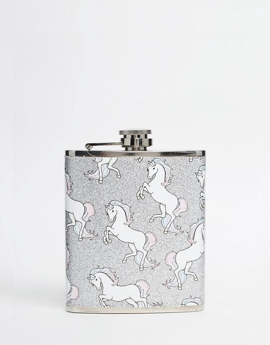 Imagen 1 de Petaca con diseño de unicornio de Skinnydip