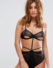 Bluebella Bluebella Rafferty Lace Bra - Black 2018