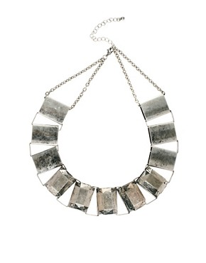 ASOS Metallic Collar Necklace