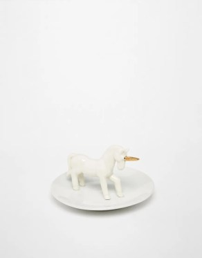 Image 1 of Small Unicorn Jewellery Dish cheap gift ideas for teen girls