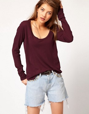 Image 1 of James Perse Long Sleeve Casual Tee