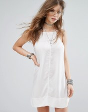Free People Free People Side By Side Slip Dress - White 2018