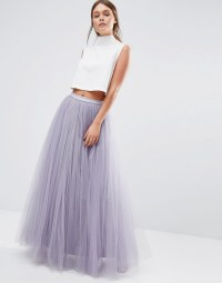 Little Mistress | Little Mistress Maxi Tulle Skirt at ASOS