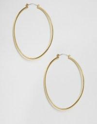 Cheap Monday | Cheap Monday Gold Hoop Earrings at ASOS