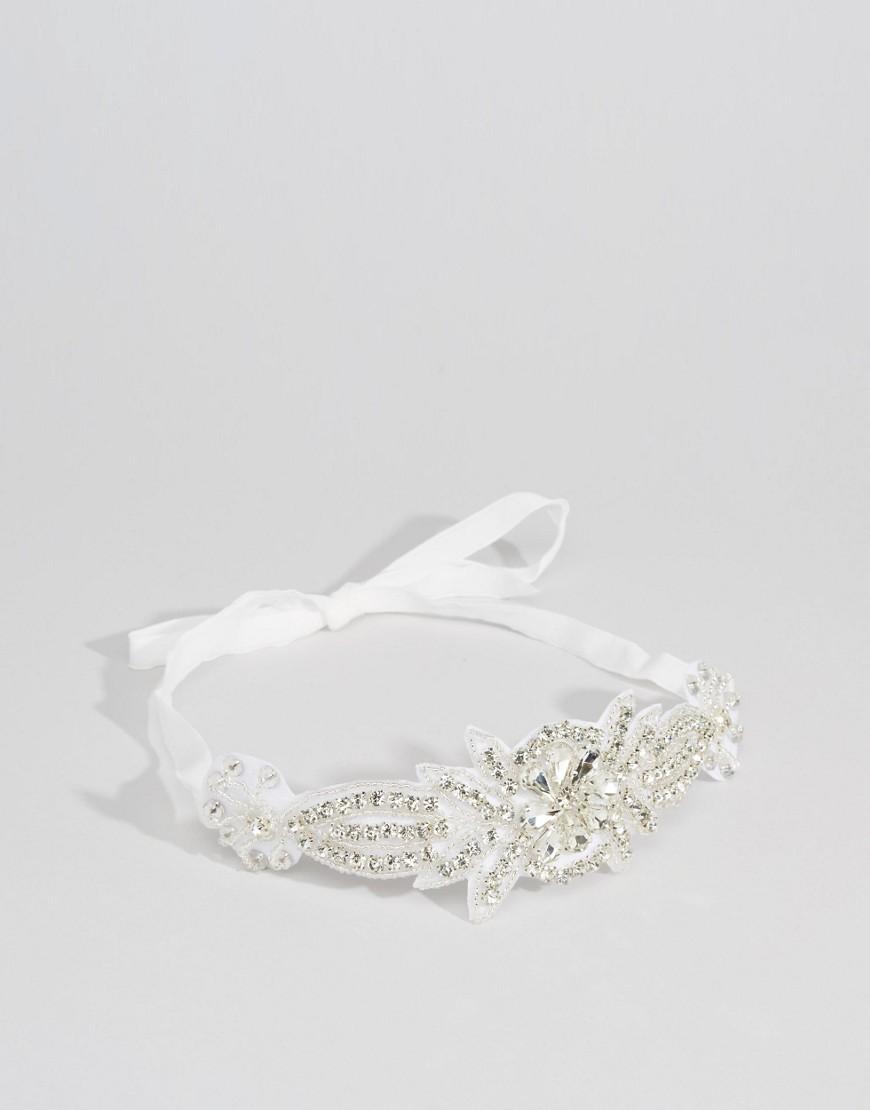Bild 3 von ASOS WEDDING – Haarband mit Strassbesatz