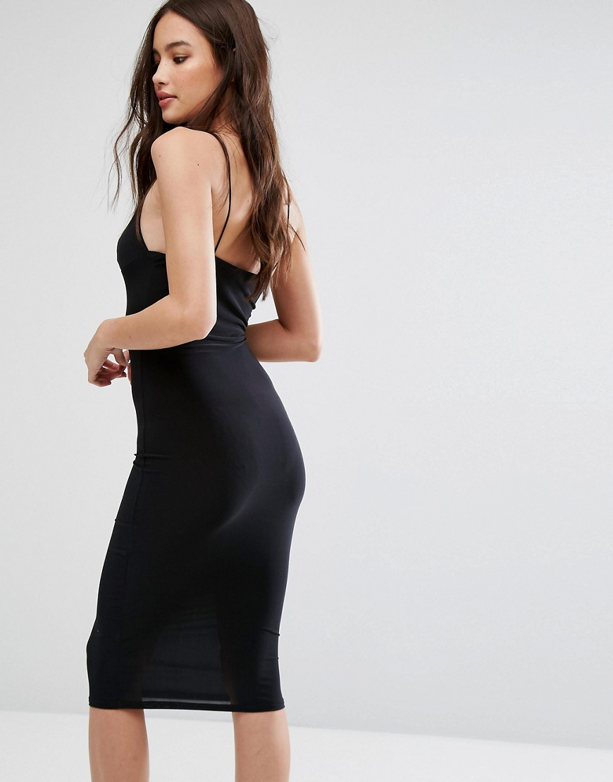 Image 2 of Club L Midi Dress with Cami Strap