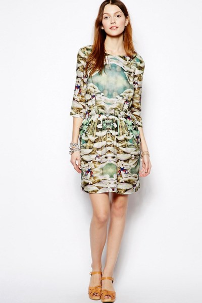 Dress in Alice in Wonderland Print £205 by Paul & Joe Sister Exclusive to ASOS