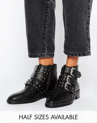 Ankle Boots Flat Amp Heeled Ankle Booties ASOS