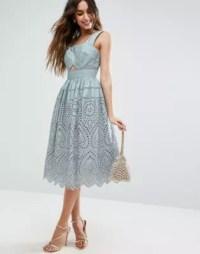 ASOS   ASOS Broderie Prom Dress