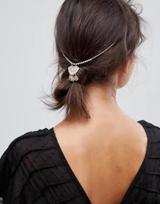 asos design hair crown