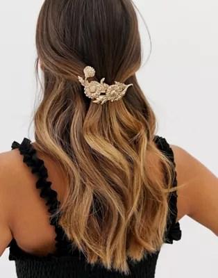 asos design barrette hair clip