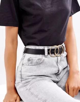 ASOS  ASOS Double Circle Waist and Hip Belt
