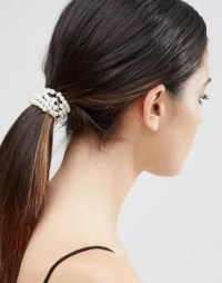 ASOS | ASOS Faux Pearl Hair Tie & Bun Holder
