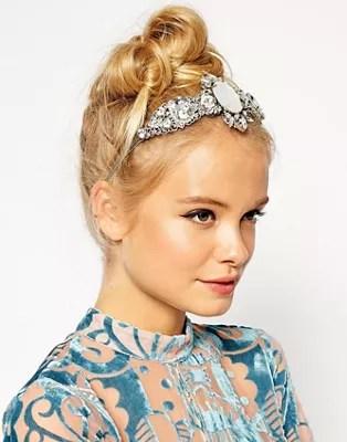 asos ice queen hair crown