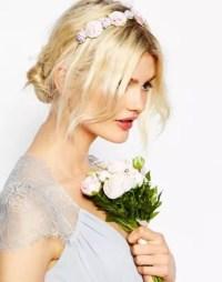ASOS   ASOS WEDDING Carnation Hair Garland