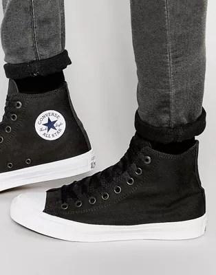 Converse Chuck Taylor All Star II Plimsolls In Black 150143C   ASOS