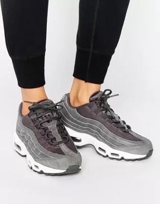 nike air max 95 hochwertige sneaker in schwarz