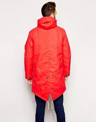 universal works parka in