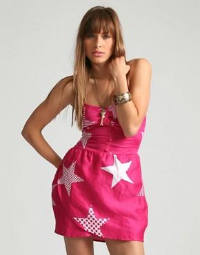 Asos star print dress