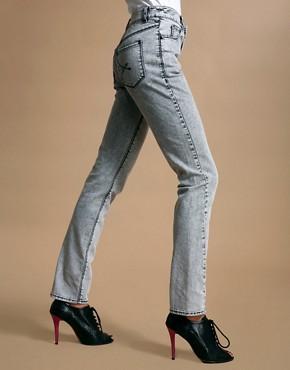 ASOS Snow Wash Skinny Jeans