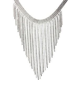 ASOS Swarovski Crystal Waterfall Necklace £65