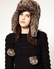 ASOS Faux Fur Trapper Hat