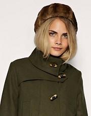 ASOS Vintage Look Fantasy Fur Hat