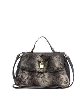 Image 1 ofASOS Fantasy Fur Lady Bag